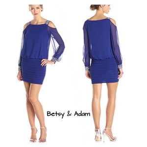 🌟Host pick🌟Betsy&Adam embellished dress Sz 4
